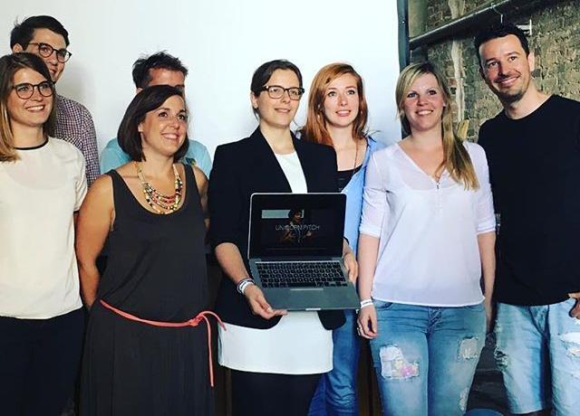HorseAnalytics mit der Jury beim UnicornPitch 2016