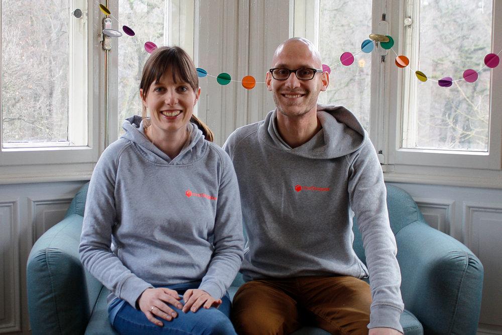 Antonia und Matthias von chatShopper