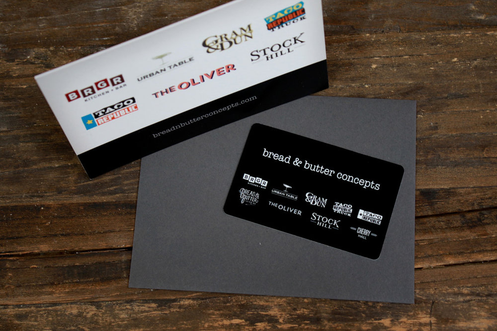 Bread butter concepts gift card bread butter concepts bread butter concepts gift card colourmoves Image collections