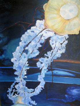 Jellyfish   24″x18″, oil