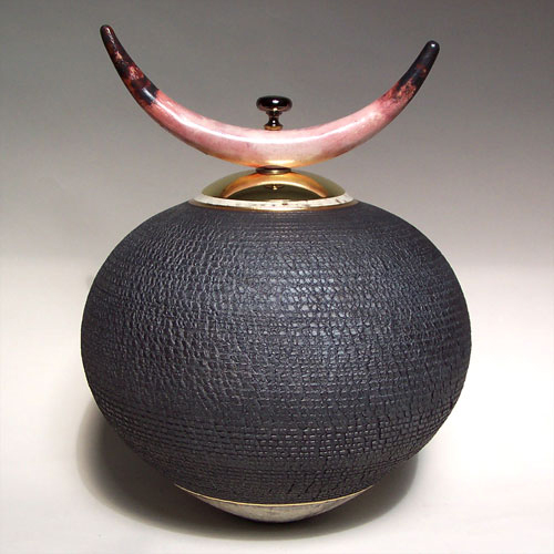 Clay vessel   12″x15″
