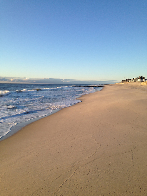 "Winter before Hurricane Sandy, Bay Head, New Jersey Photograph, 10""x8"""