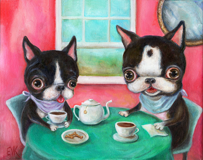 Vicky Knowles - Whimsical Animal Drawings and Paintings