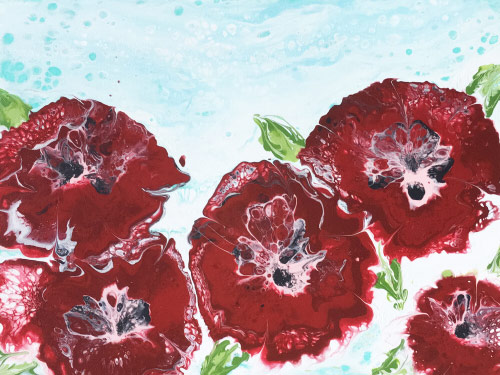 Red Blooms Awaken