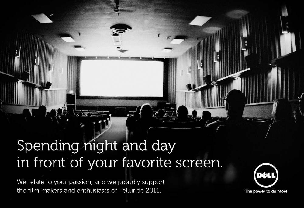 Dell // Telluride Film Festival Ad