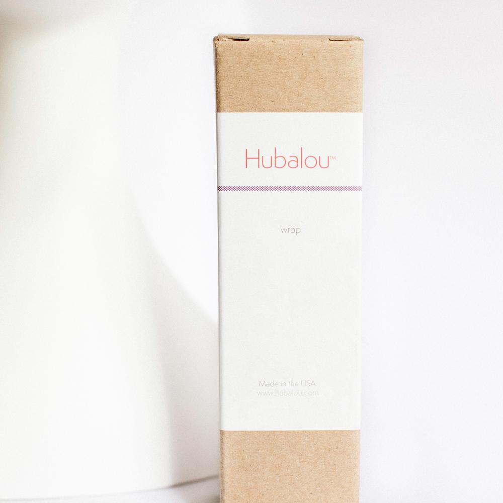 Hubalou Wrap Hair Towel // Packaging Design