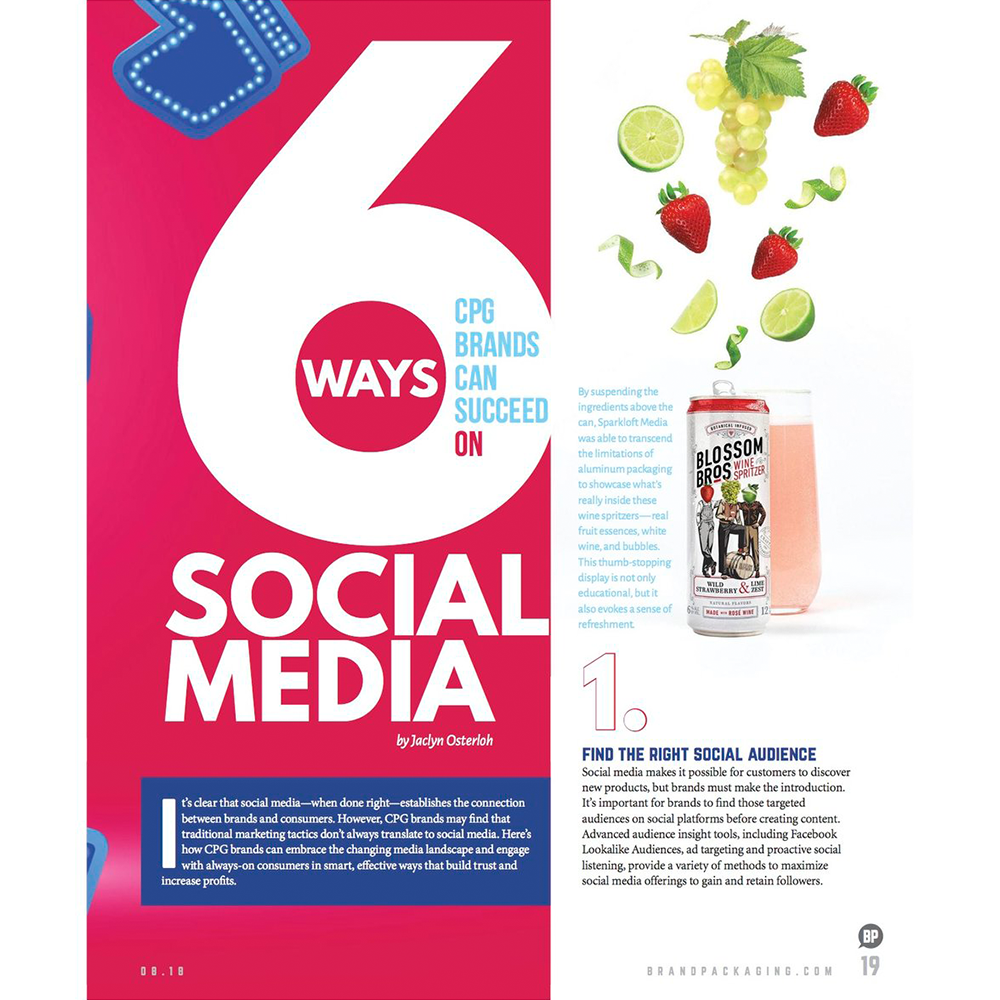 Brand Packaging, 6 Ways CPG Brands Can Succeed On Social Media