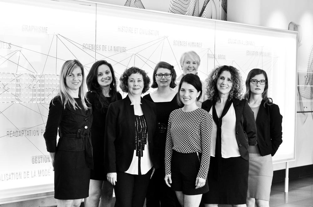 L'équipe de professionnelles de Vestechpro