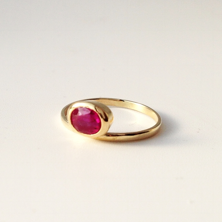 Antique ruby