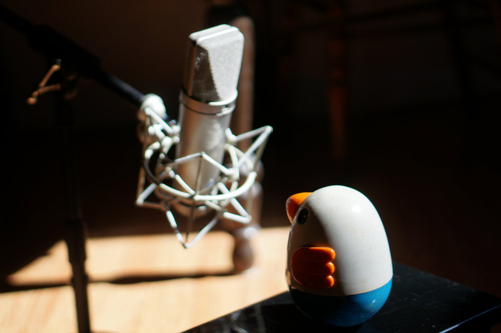 Recording a childhood toy
