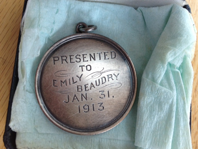 mim's reading medal jan 31 1913