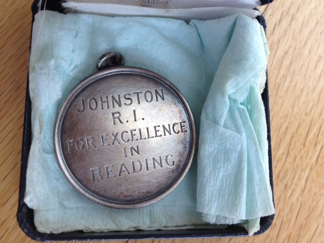 mim's reading medal johnston ri