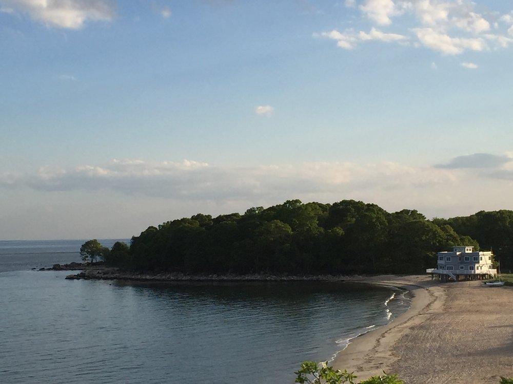 Hubbard's Point beach