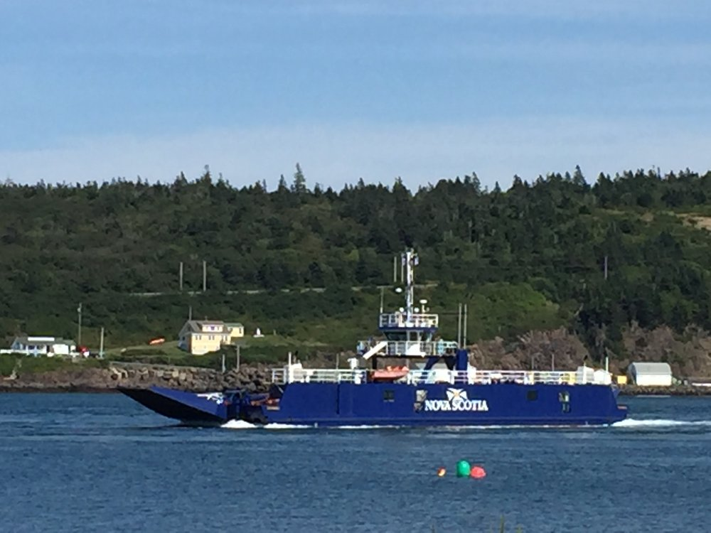Margaret's Justice  ferry running between Freeport and Westport NS