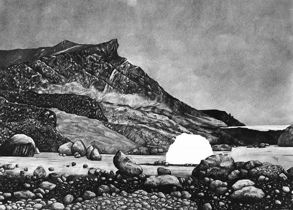 Saviksoah Meteorite, intact, 1896