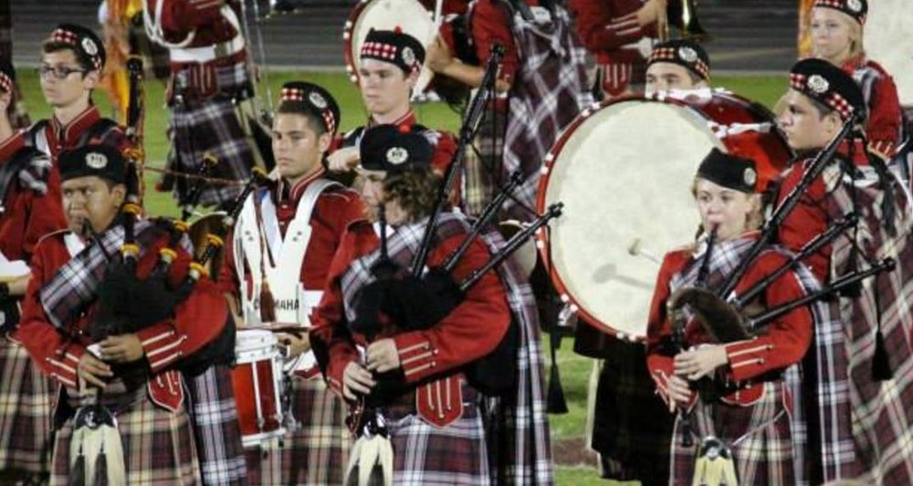 Riverview High School Kiltie Pipers.JPG