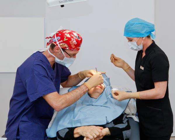 Mohs surgery is performed in one of our custom-built theatres.