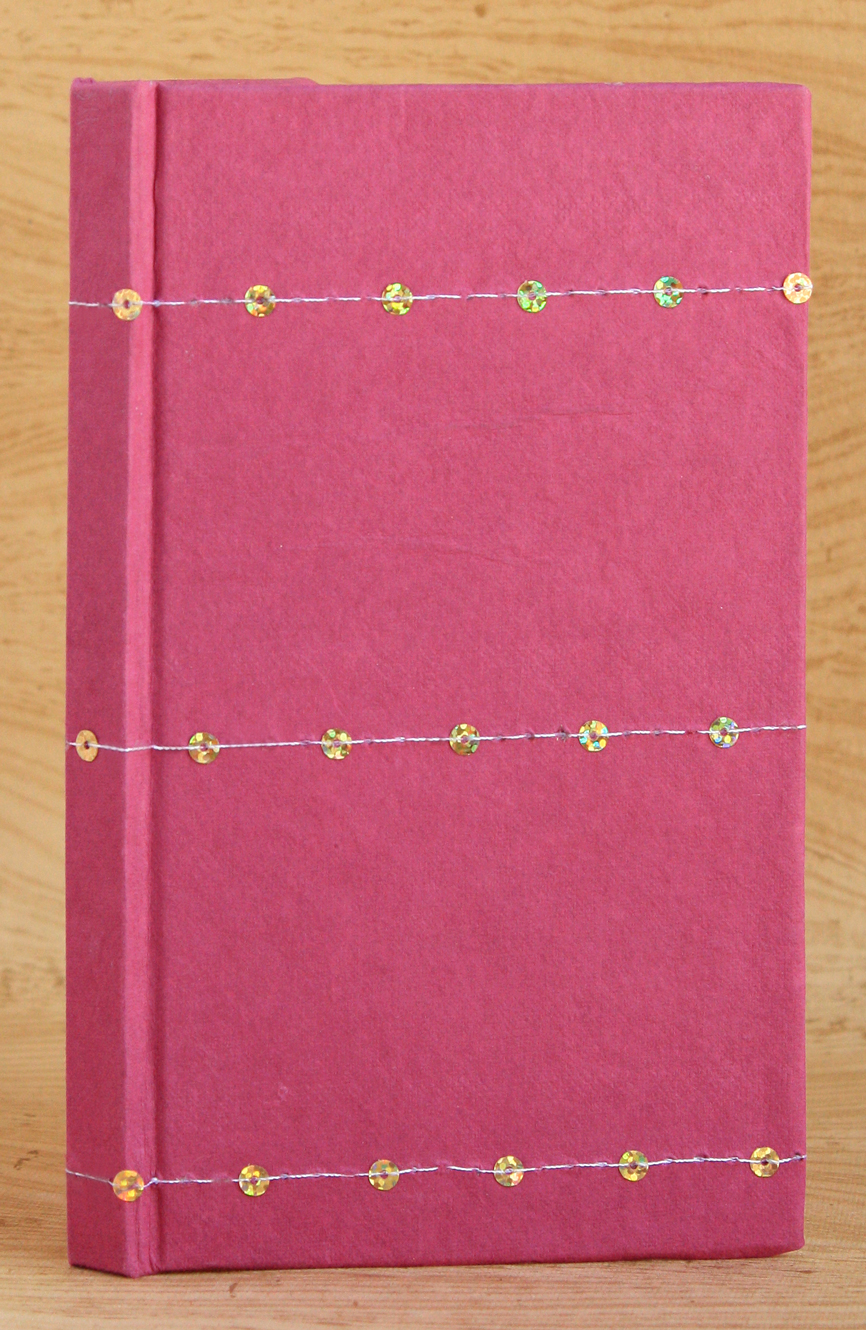 Basic Case-Bound Codex Journal (Stitched Sequin Cover)