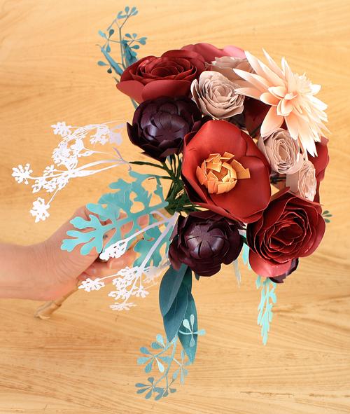 Paper flower bouquet large dahlia poppy ranunculus succulent paper flower bouquet large dahlia poppy ranunculus succulent mightylinksfo