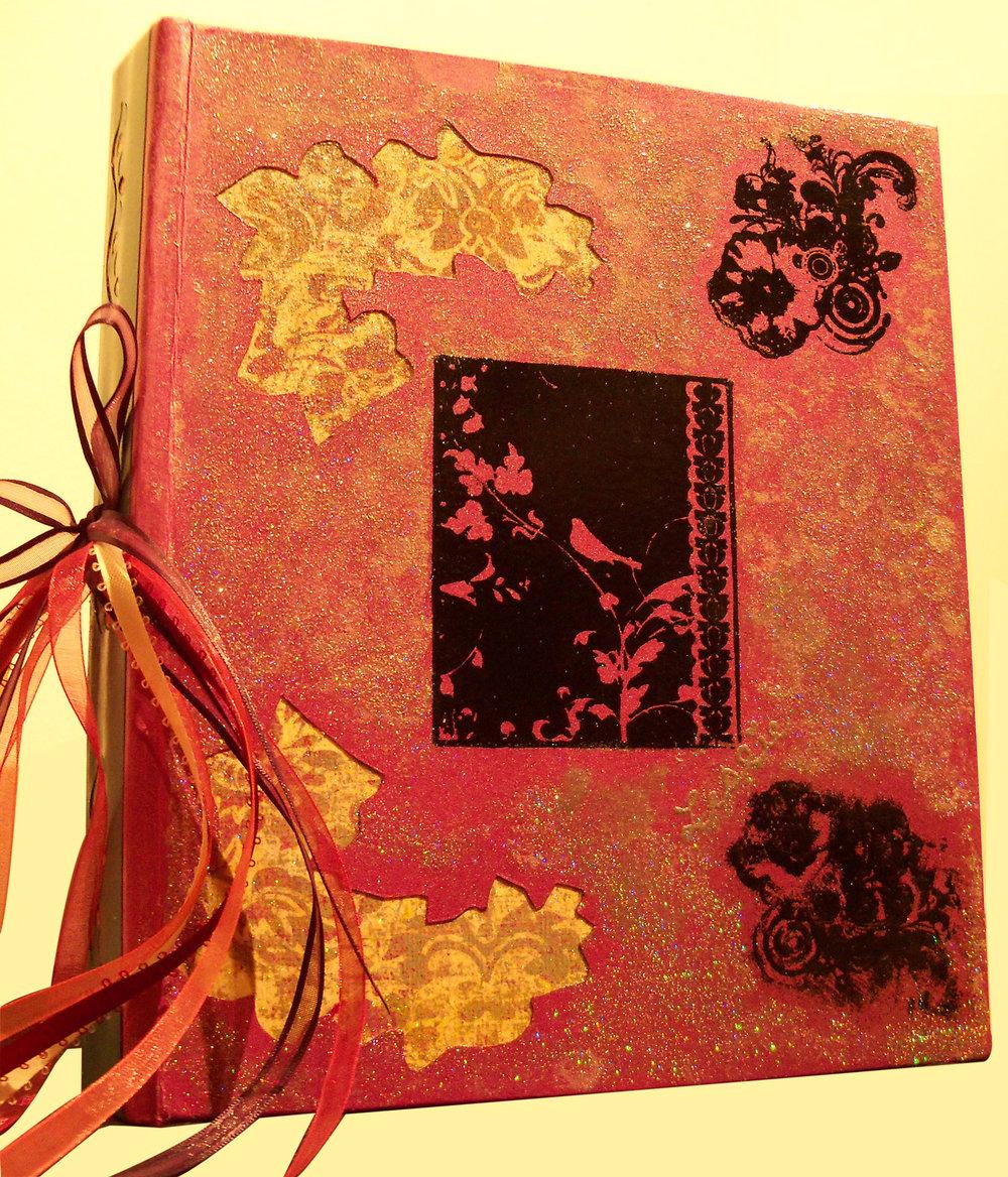 handmade orange album