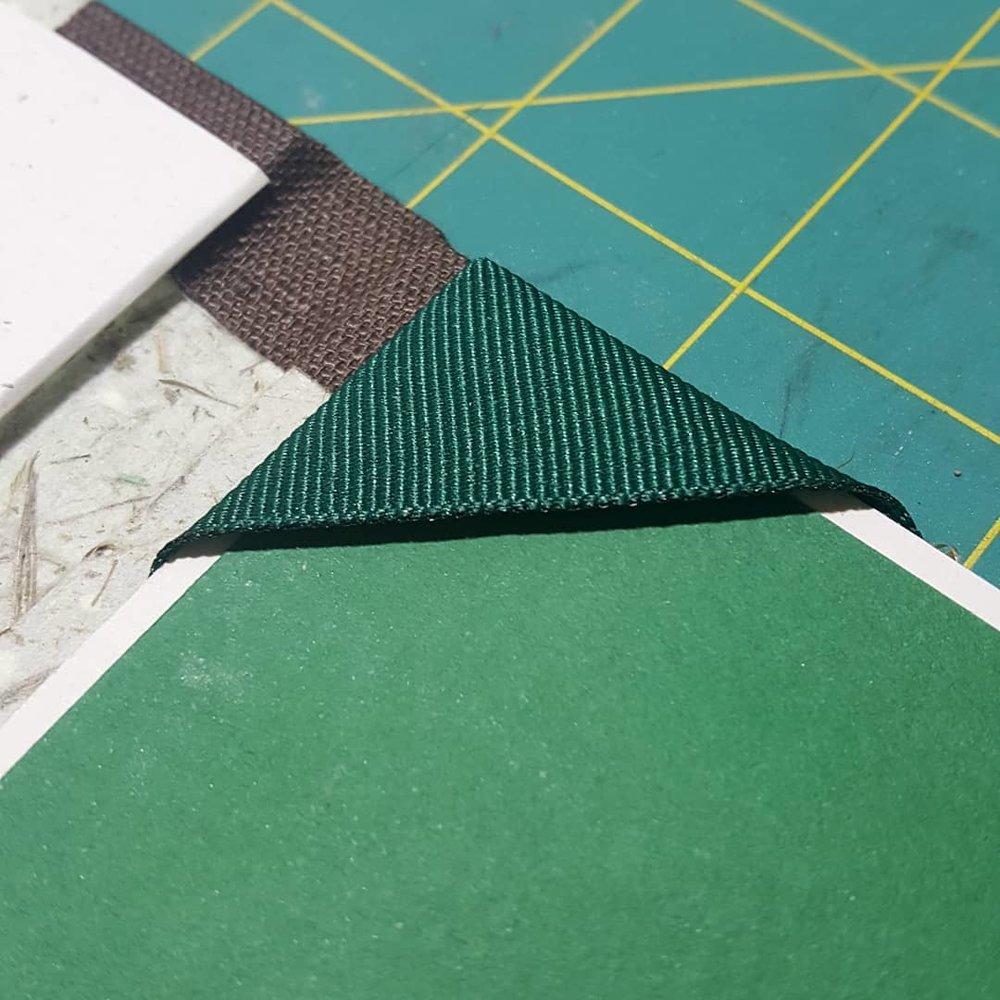 custom book corner detail