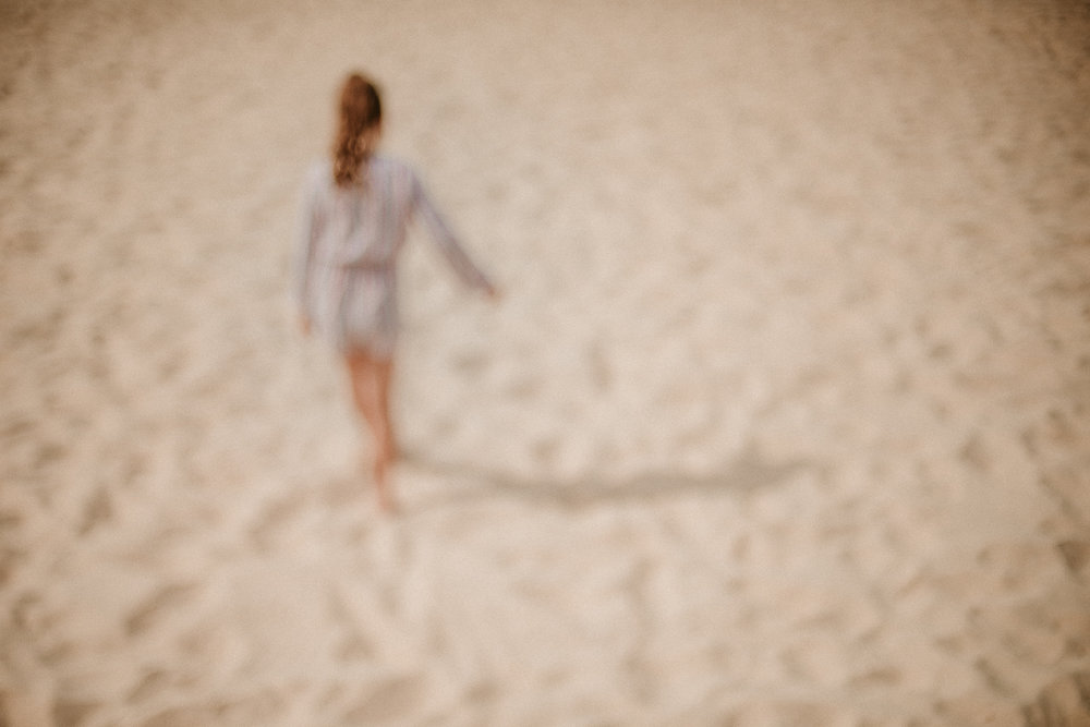 Portrait of a girl on Bondi Beach