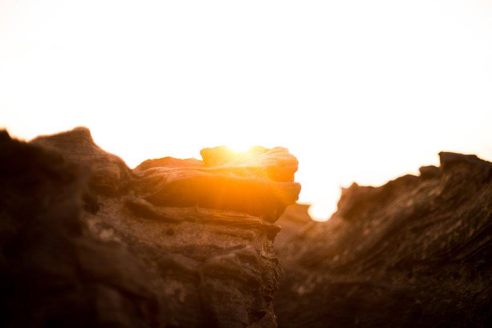 Sunrise at Freshwater Beach