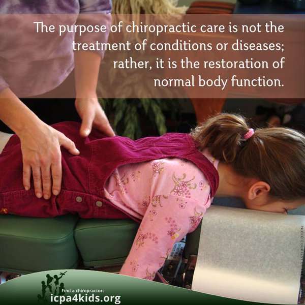 Click here for more information on Kids and Chiropractic.
