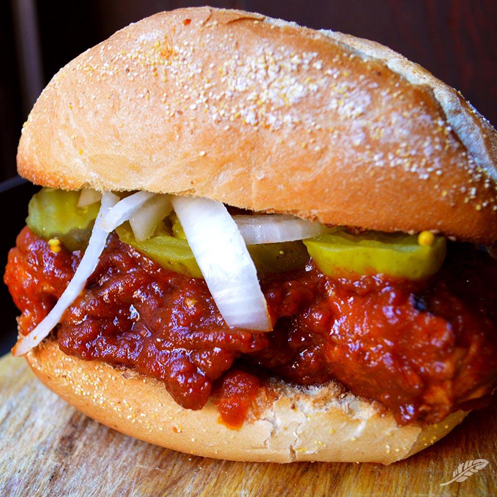 BBQ Boneless Rib Sandwich