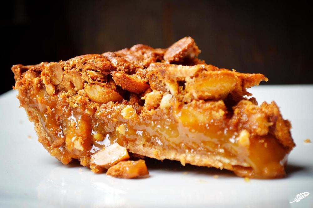 Sweet & Spicy Peanut Pie