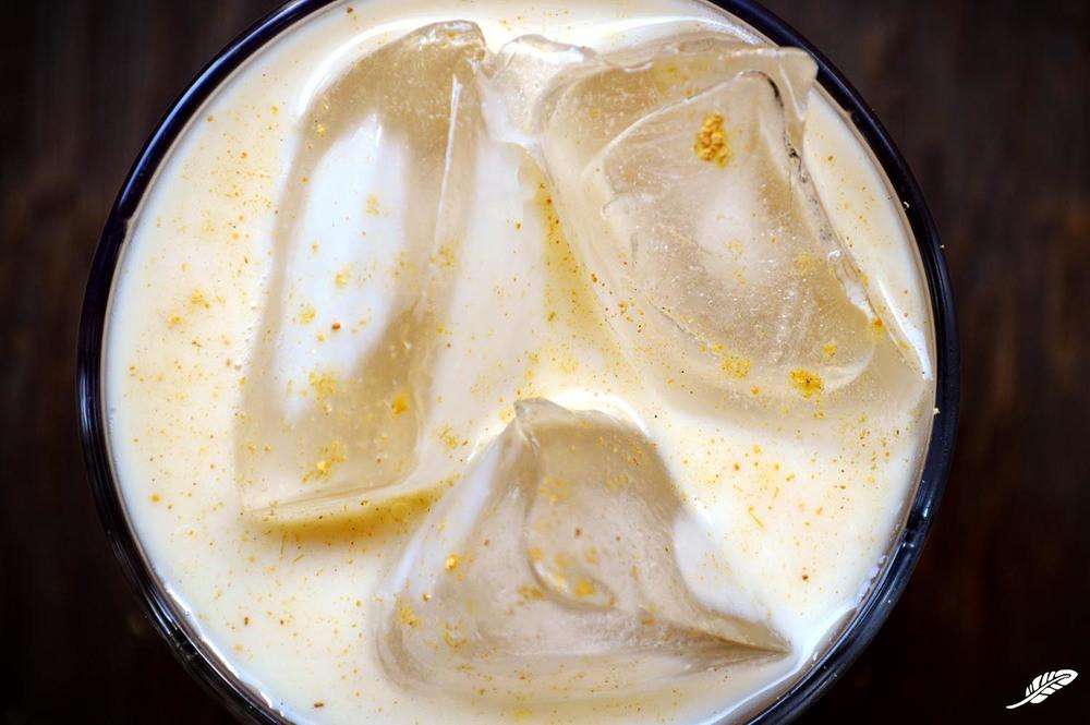Mint·Ginger·Wasabi Thai-Style Iced Tea
