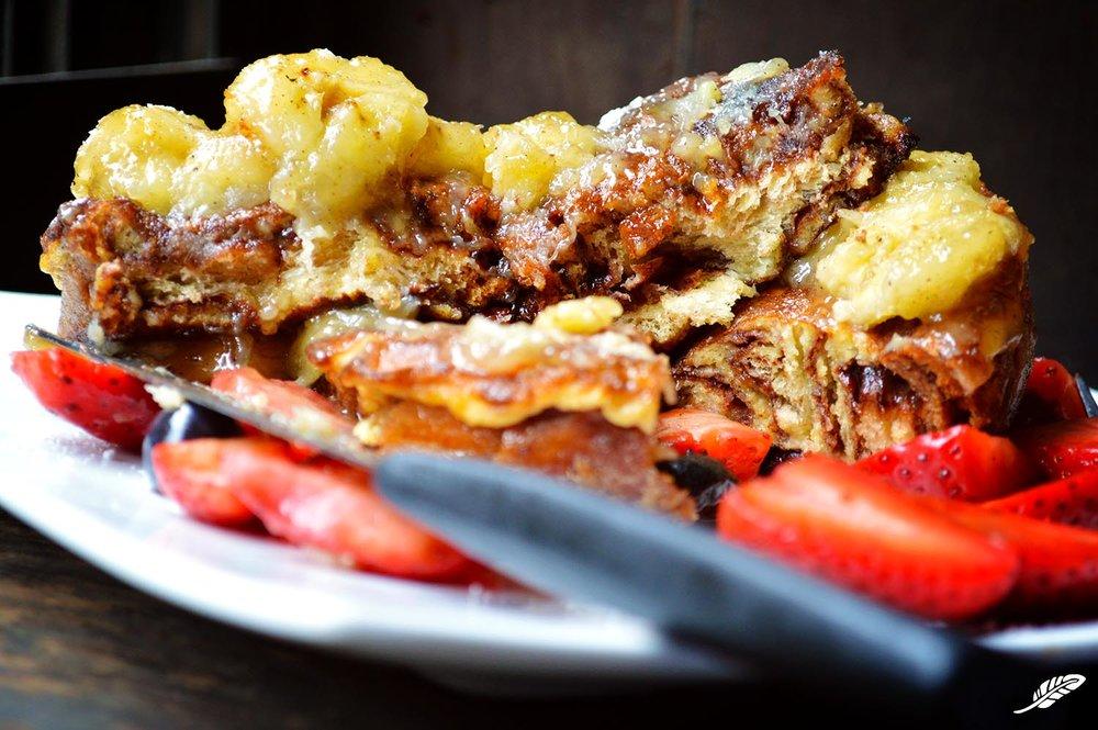 Cinnamon Swirl Babka French Toast
