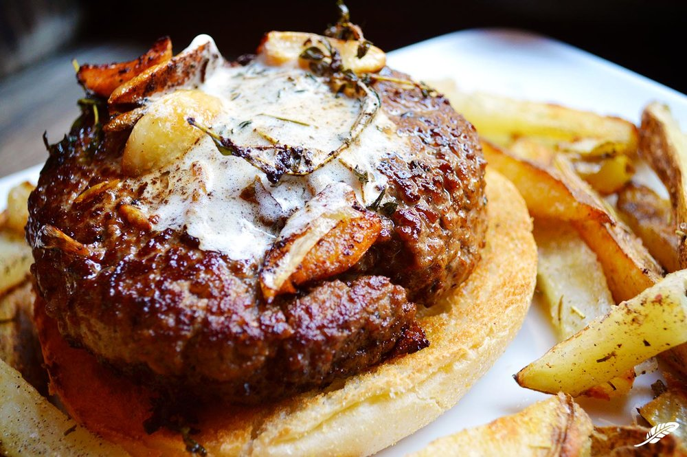Steak Burger & Fries