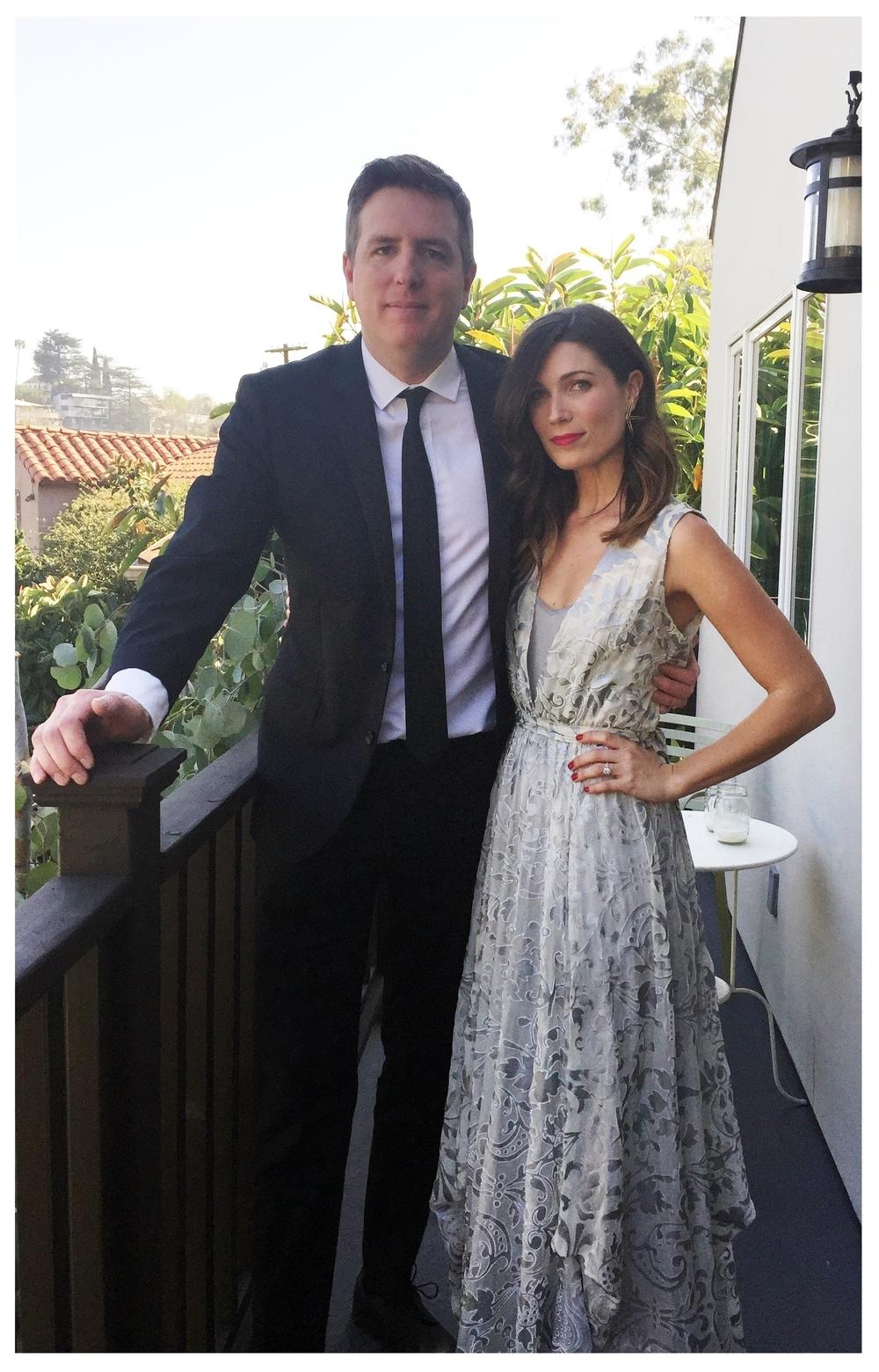 Tim McAuliffe & Jessica Kozak/ WGA Awards