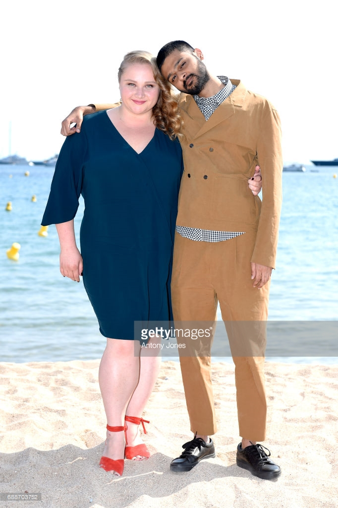 Danielle Macdonald and Sid Dhananjay/Cannes 2017