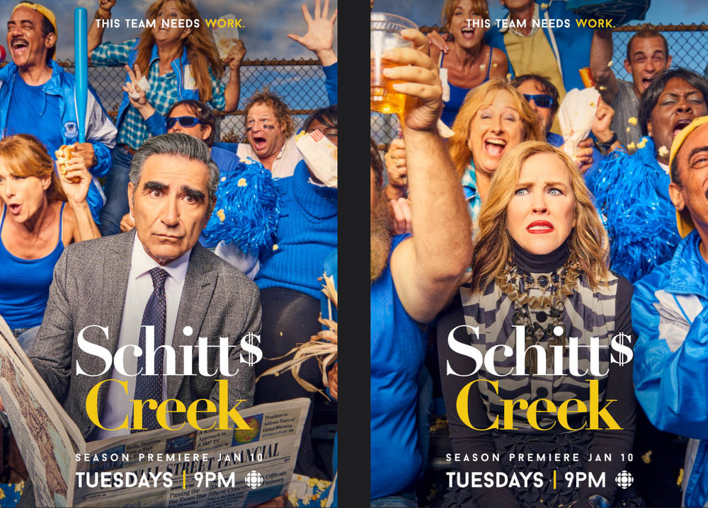 Schitt's Creek Season 3/ Matt Barnes