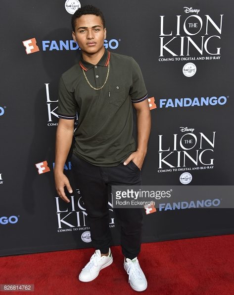 Nathaniel Potvin/ Lion King Premiere