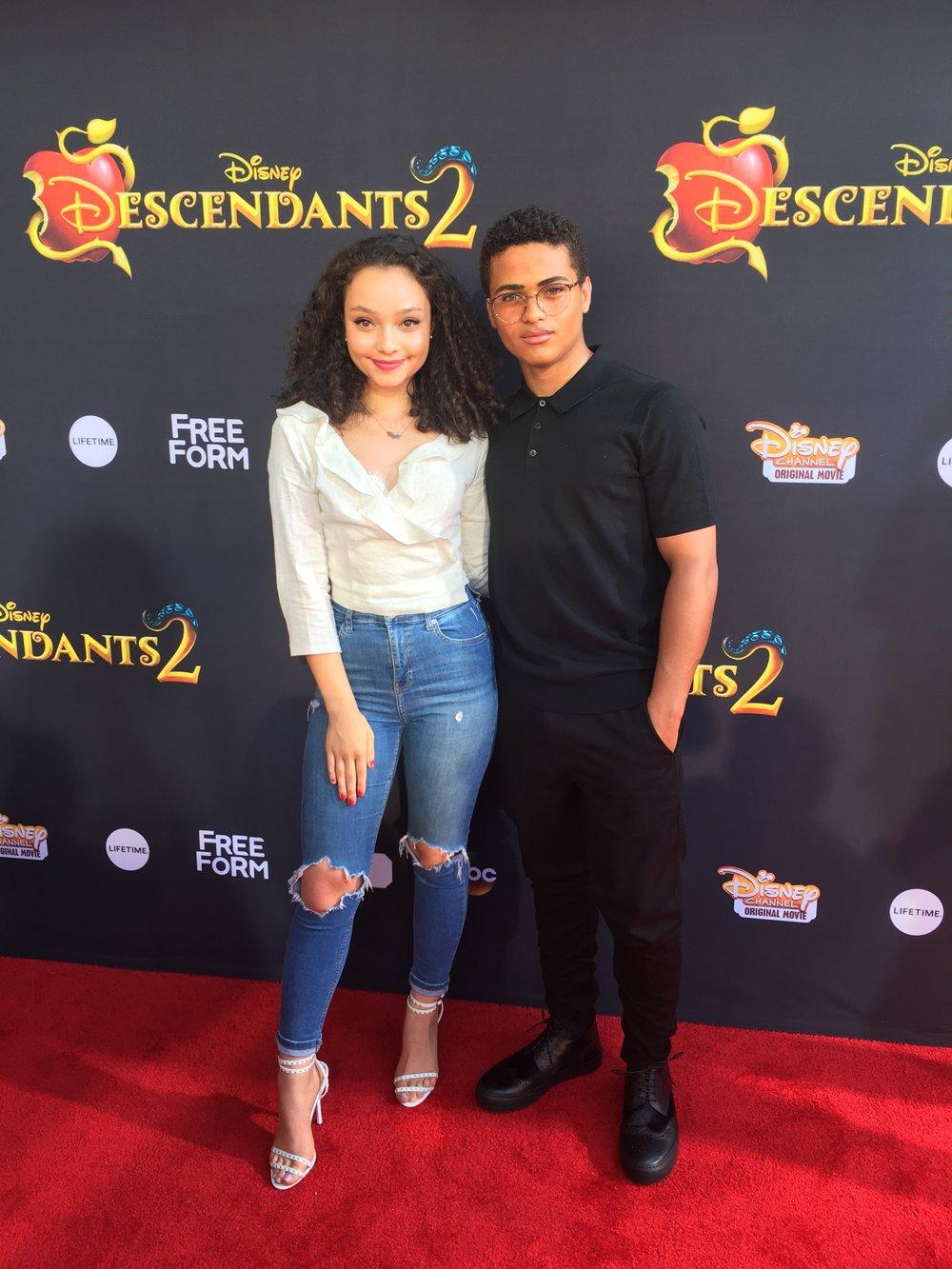 Nathaniel Potvin/ Descendants 2 Premiere