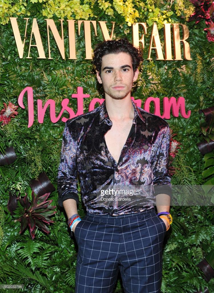 Cameron Boyce/ Vanity Fair X Golden Globes