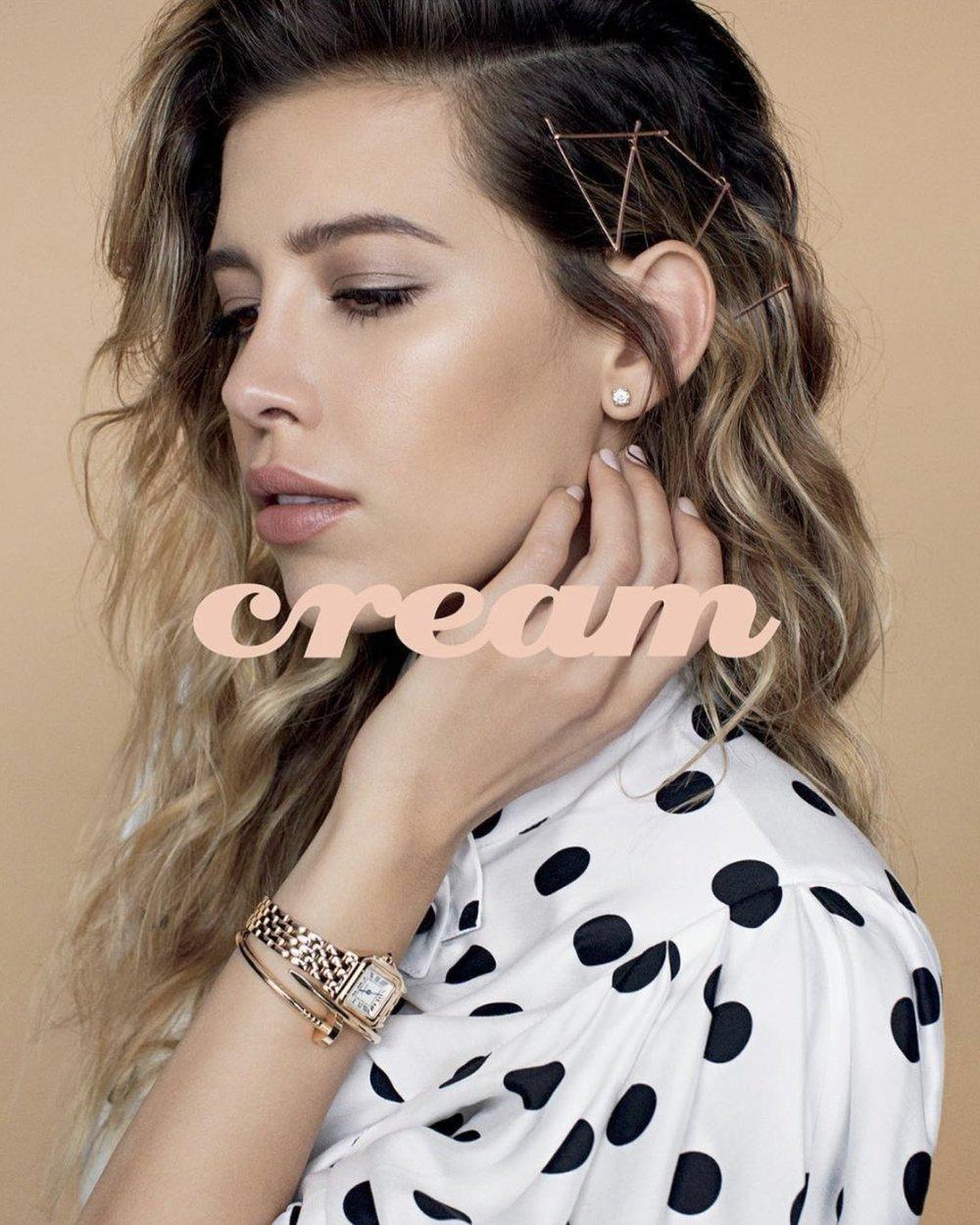 Cream Magazine/ Michelle Salas/ Ashley Frangie