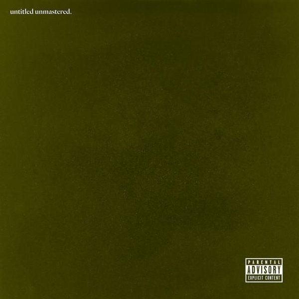 Untitled Unmastered is set to drop sometime this week.