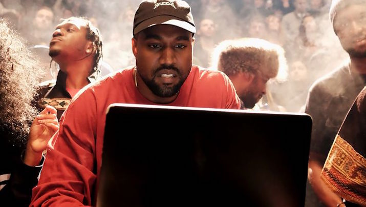 Kanye West released TLOP on February 14th, 2016 via Tidal