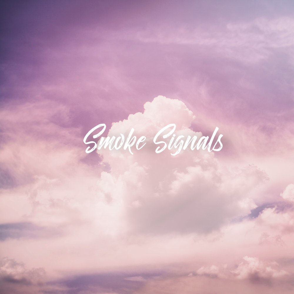 Cover Art - Smoke Signals in the Clouds by Drew T
