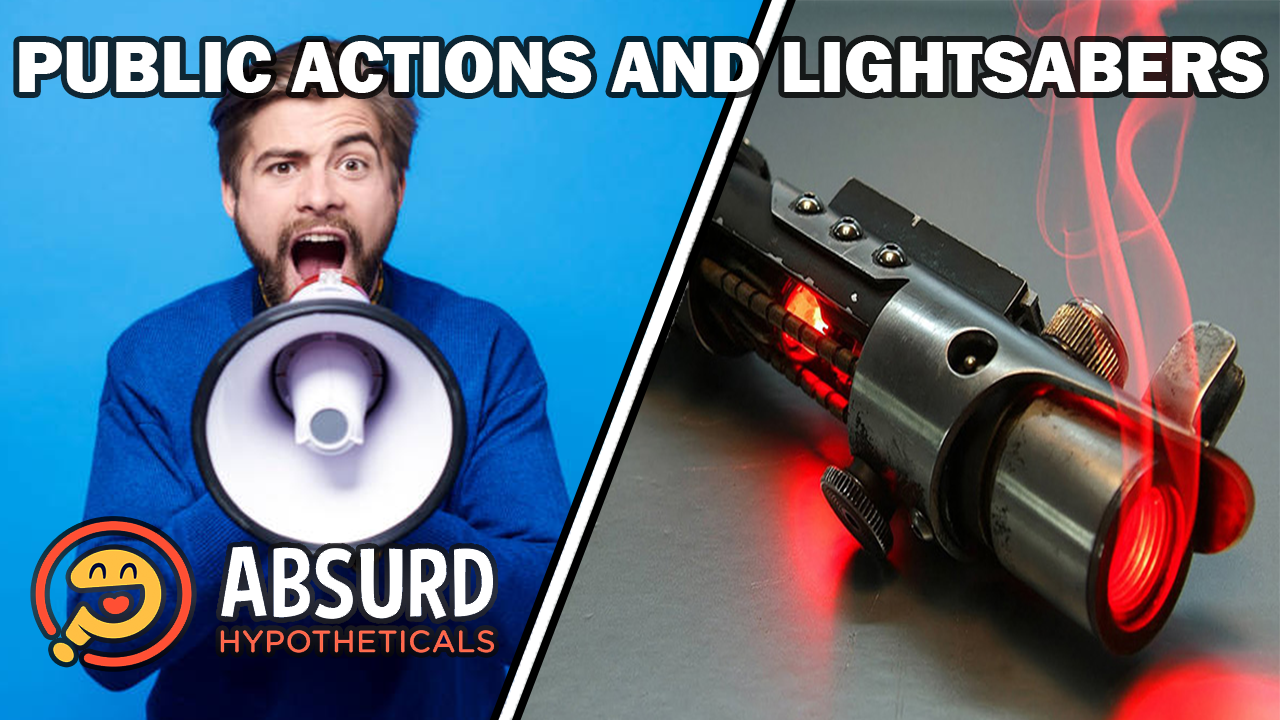 Episode 35: Public Actions and Lightsabers