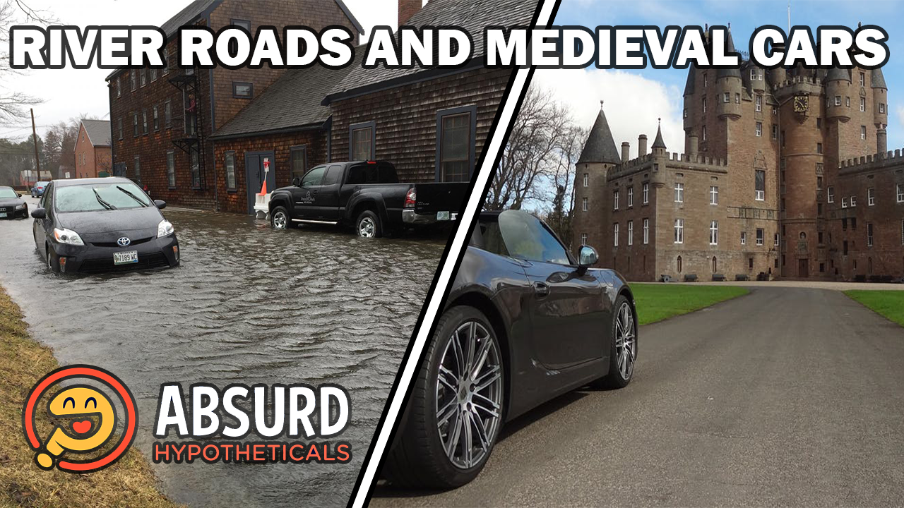 Episode 37: River Roads and Medieval Cars