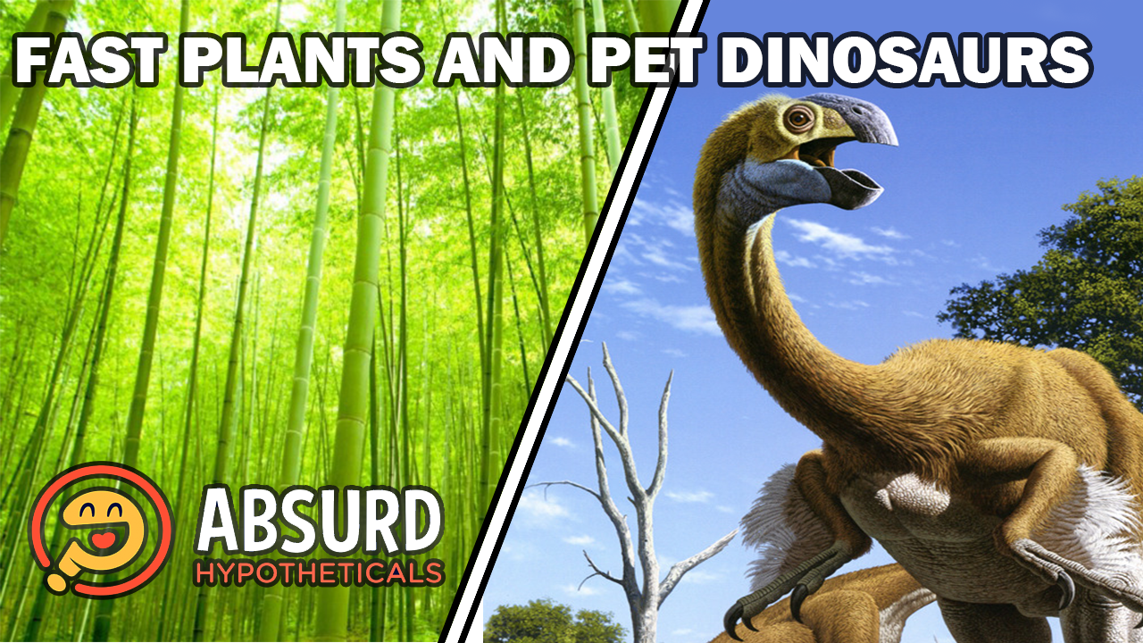 Episode 41: Fast Plants and Pet Dinosaurs