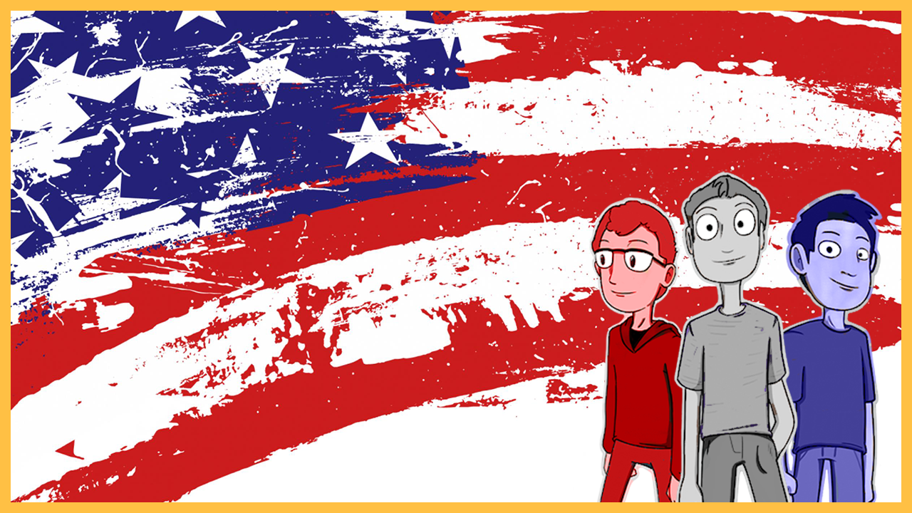 Episode 52: What if RED, WHITE, and BLUE were the only colors?