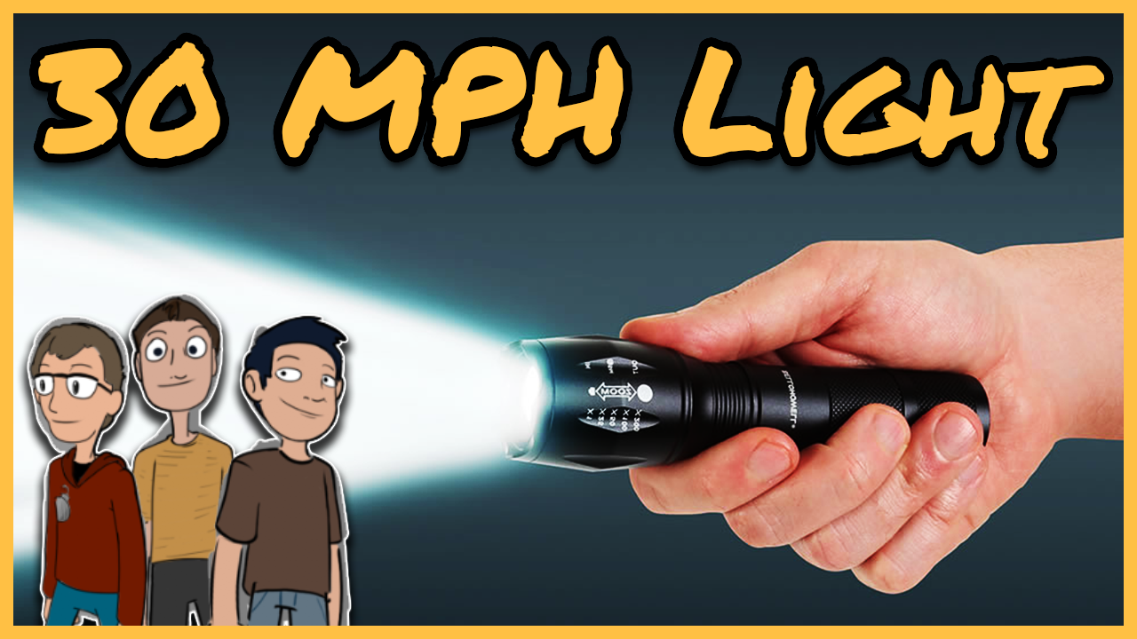 Episode 46: What if the speed of light was 30 mph?