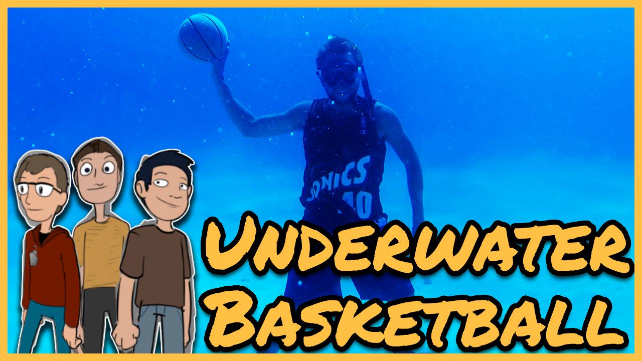 Episode 45: What if all sports were in a swimming pool?