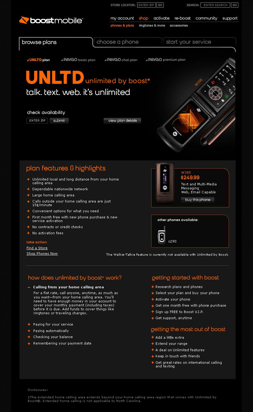 Boost Mobile — Rhiannon Bell